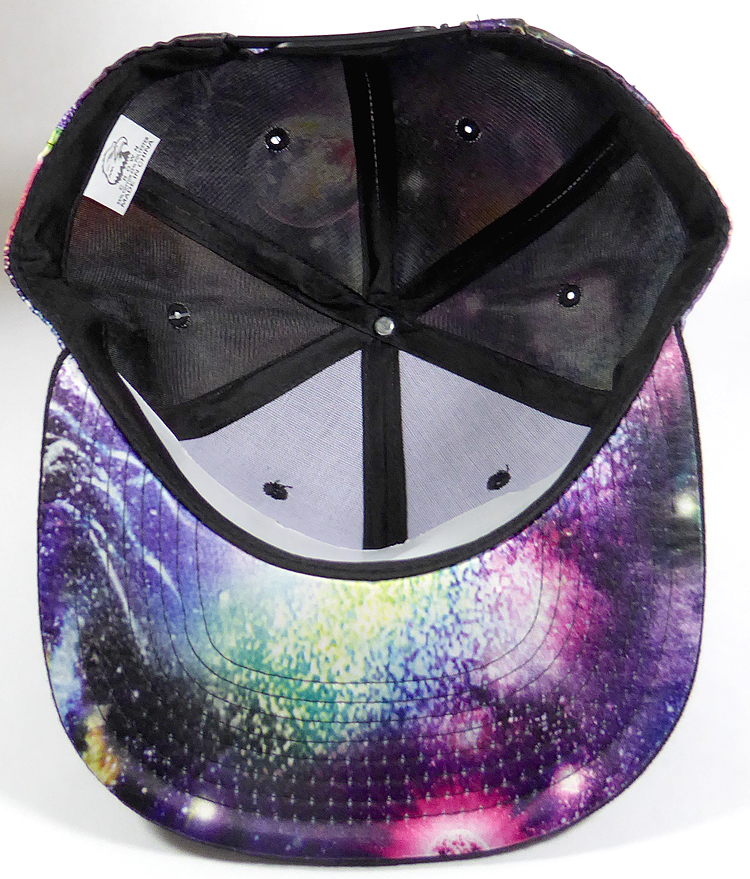 064ae9d2ecc Wholesale Snapback Hats - Galaxy Planets - Black Brim