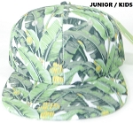 KIDS Jr. Banana Snapback Caps Wholesale - Solid