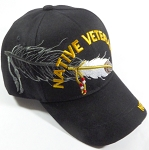 Wholesale Native Pride Baseball Cap - Native Veteran