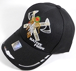 Wholesale Native Pride Baseball Cap - Warrior Axe - Black