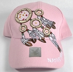 Wholesale Native Pride Baseball Cap - Dreamcatcher - L. Pink