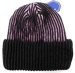 Wholesale Winter Sideline Ribbed Cuff Beanie - Pink