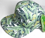 Wholesale Banana Floral Blank Snapback Hat - Solid