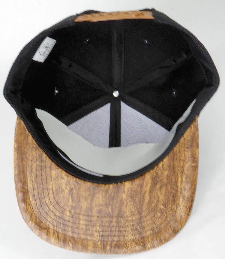 5c2a1c01c56 Wholesale Blank Snapback Caps - Brown Oak Woodbrim