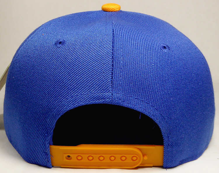 Wholesale Blank Snapback Hats   Caps Two Tone - Royal Blue  096e706cb57c