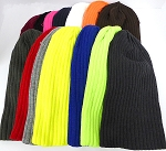 Wholesale Beanies Wholesale | Sideline Knit  Long Cuff Beanie Hats - ALL COLORS