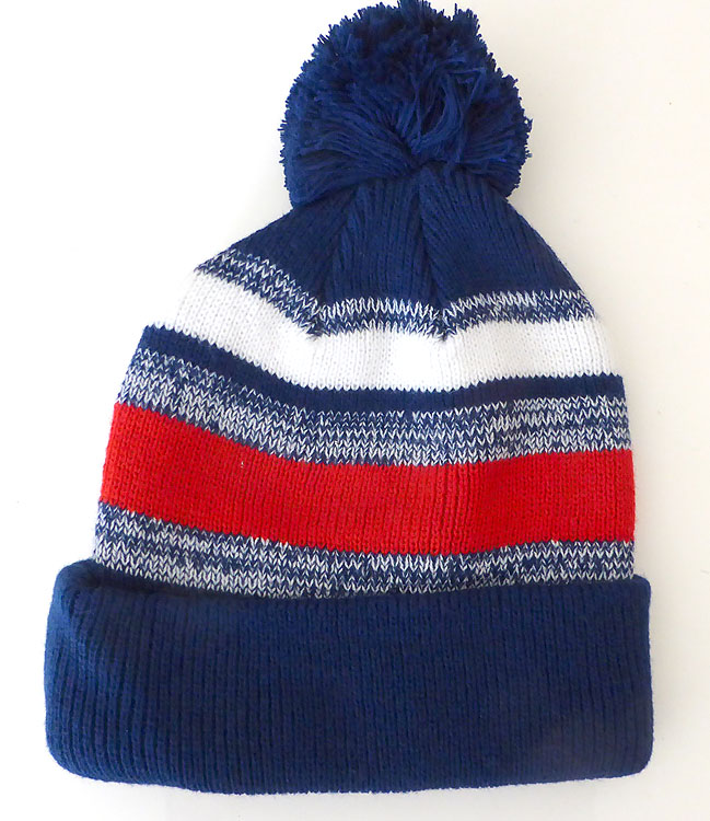 4b68685cc Beanies Wholesale | Pom Pom Beanies Trendy Winter Hats -White Red Royal Blue