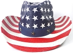 Cowboy Hat Wholesale - American Flag - Stars and Stripes