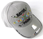 Wholesale Native Pride Baseball Cap - Crossed Arrows - Gray