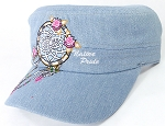 Wholesale Native Pride Cadet Cap - Floral Dreamcatcher - Light Stone