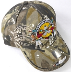Wholesale Native Pride BallCap - Peace Pipes - H. Camo