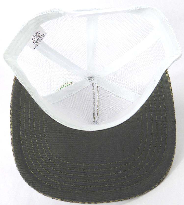 KIDS Junior Straw Trucker Snapback Hats - Olive - White Mesh c80fbb1bdff