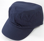 Plain Cadet Hats Wholesale - Navy Cap