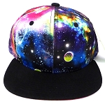 Kids Jr Blank Snapback Hats & Caps Wholesale - Galaxy Design