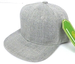 INFANT Baby Blank Snapback Hats & Caps Wholesale - Solid L. Denim Grey