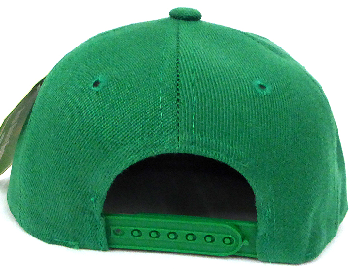 395cf3084bbc8 INFANT Baby Blank Snapback Hats   Caps Wholesale - Solid K. Green