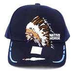 Wholesale Native Pride Baseball Cap - Chieftain Honor - Navy