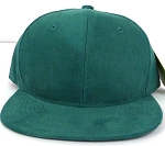 Wholesale Corduroy Blank Snapback Caps - Solid - Green