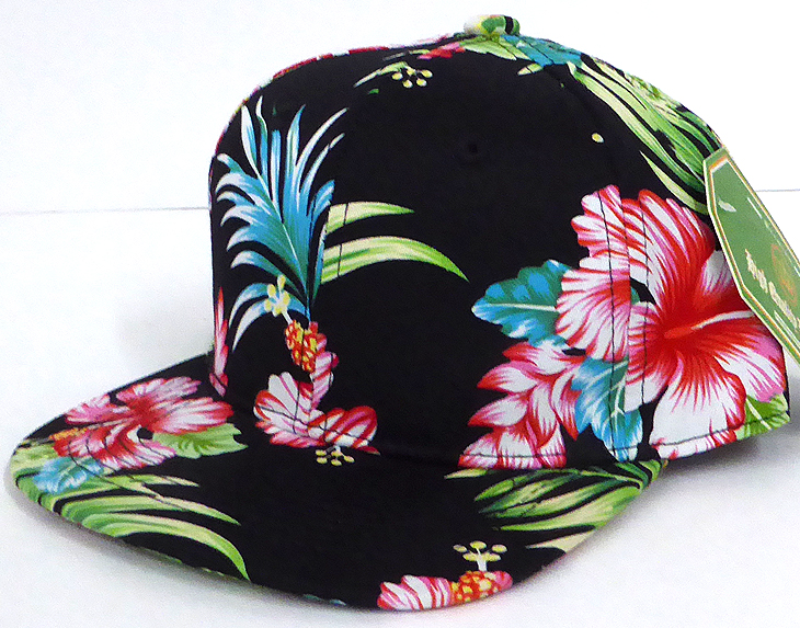 ee1a1e8f Home > ALL HATS > INFANT Baby Blank Snapback Hats & Caps Wholesale Hawaiian  Flower - Solid Black