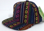 INFANT Baby Blank Snapback Hats & Caps Wholesale Aztec stripe   - Solid