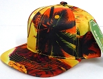 INFANT Baby Blank Snapback Hats & Caps Wholesale Hawaii sunset   - Solid  GOLD