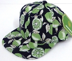 INFANT Baby Blank Snapback Hats & Caps Wholesale Lemon - Solid Dark Navy