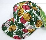 INFANT Baby Blank Snapback Hats & Caps Wholesale Pineapple - Solid White