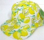 INFANT Baby Blank Snapback Hats & Caps Wholesale Lemon - Solid  Yellow