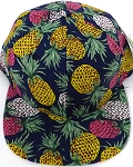 KIDS Jr. Snapback Hats Wholesale - Pineapple   Navy