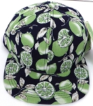 KIDS Jr. Snapback Hats Wholesale - Green Lemon