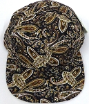 KIDS Jr. Snapback Hats Wholesale -  Paisley -    Brown