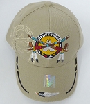 Wholesale Native Pride BallCap - Peace Pipes - kHAKI
