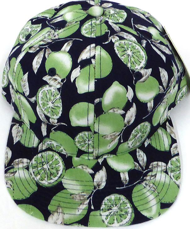 738d74000 Wholesale Lemon Floral Blank Snapback Hat - Green Lemon