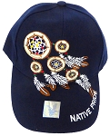 Native Pride Hats Wholesale - The Dream Catcher  - Navy
