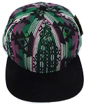 Aztec Snapback Hats Wholesale - Native American Theme Cap -6
