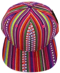 Aztec Snapback Hats Wholesale - Native American Theme Cap -12