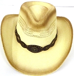 Western Cowboy Straw Hats Wholesale - Long Horn