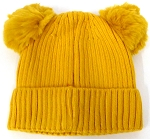 Infant/Baby Ears Beanie k-89 - Gold