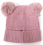Infant/Baby Ears Beanie k-89 - Lavender Pink
