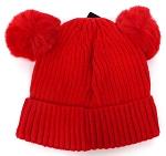 Infant/Baby Ears Beanie k-89 - Red