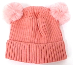 Infant/Baby Ears Beanie k-89 - Pink