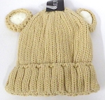 Infant/Baby Ears Beanie k-90 - Khaki