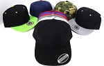 [Wholesale Price apply for Dozen Orders Only]  Blank Snapbacks - All colors (select color)