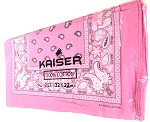Paisley Bandana 100% Cotton Wholesale (Dozen Priced) - Light Pink