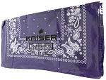 Paisley Bandana 100% Cotton Wholesale  (Dozen Packed) - Purple