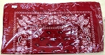 Paisley Bandana 100% Cotton Wholesale (Dozen Priced) - Burgundy