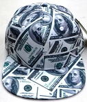 Wholesale Blank Dollar Bill Snapbacks Hats | US $100 Dollar