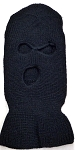 Wholesale Balaclava 3-Hole  Halloween Ski Masks (Full Face Masks)    Black