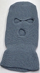 Wholesale Balaclava 3-Hole  Halloween Ski Masks (Full Face Masks)    L Grey