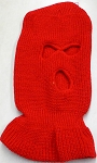 Wholesale Balaclava 3-Hole  Halloween Ski Masks (Full Face Masks)   Red